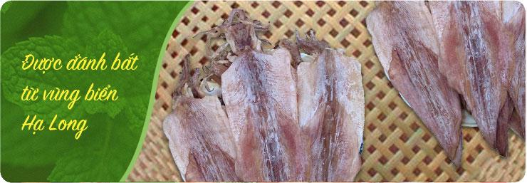 Khô mực - đặc sản Hạ Long