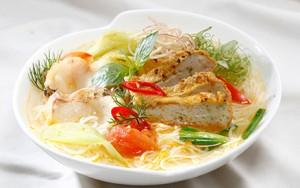 Bún chả mực Hạ Long thơm ngon cho bữa ăn cuối tuần